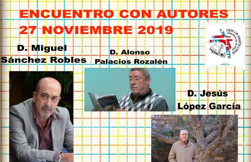 ENCUENTRO CON AUTORES 2019