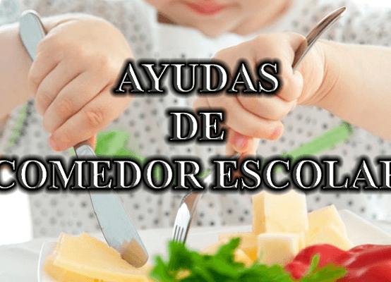 IMPRESO DE SOLICITUD PARA ENTREGAR EN EL CENTRO. AYUDAS COMEDOR 2020-2021