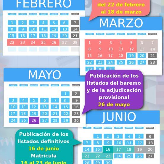 ADMISIÓN DE ALUMNOS 2020-21. INFORMACIÓN GENERAL en PDF